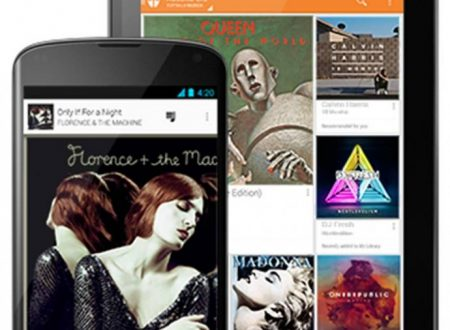 GOOGLE PLAY MUSIC UNLIMITED (SERVIZIO STREAMING MUSICALE) RECENSIONE