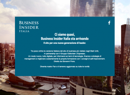 BUSINESS INSIDER (MAGAZINE ON LINE – SITO INTERNET) RECENSIONE